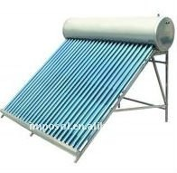 stainless steel non pressure solar water heater