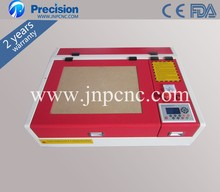 Latest MINI 2d 3d crystal laser engraving machine 4040 co2 laser cutting machine 50W Super quality with all functions
