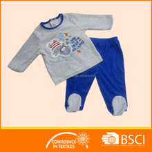 Winter And Autumn Cotton Kids Thermal Soft Pajamas