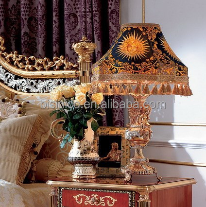 Italy Rococo Style Cherubs Table Lamp for Home Decoration BF02-6019