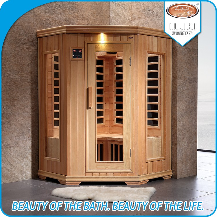 New Corner Home Far Infrared Sauna Room for two person