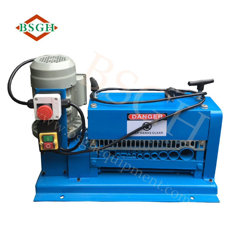 Best quality copper wire drawing machine make cable Hot Sell Copper Wire Stripping Cutting Machine / Cable Making Equipment