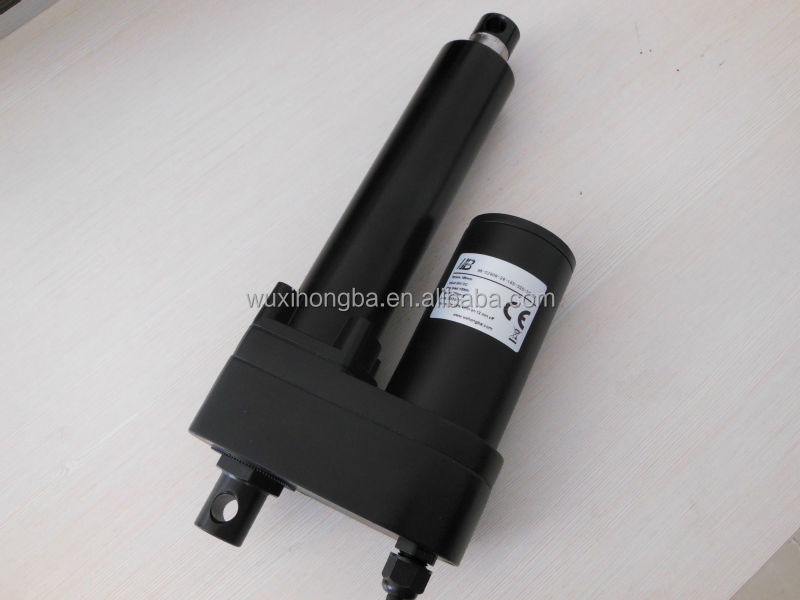 CE ROHS 12v 24v dc linear electric actuator for conveyor belt