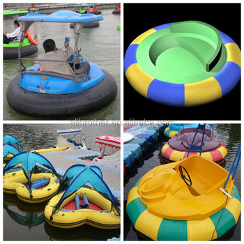 Electric Water park battery bumper boat for sale