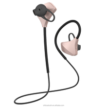 Sports wireless headset with metal ear hook no drop wireless earphone