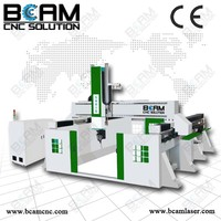Professional manufacturer hot sale 5 axis cnc name plate machine BCMS1224