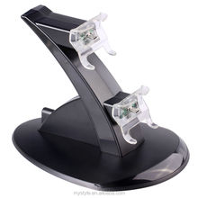 Black Dual Charging Stand Dock station for Microsoft Xbox One Gamepad Controller
