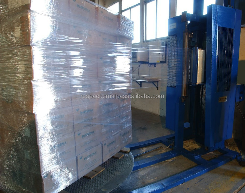 Machine roll stretch film