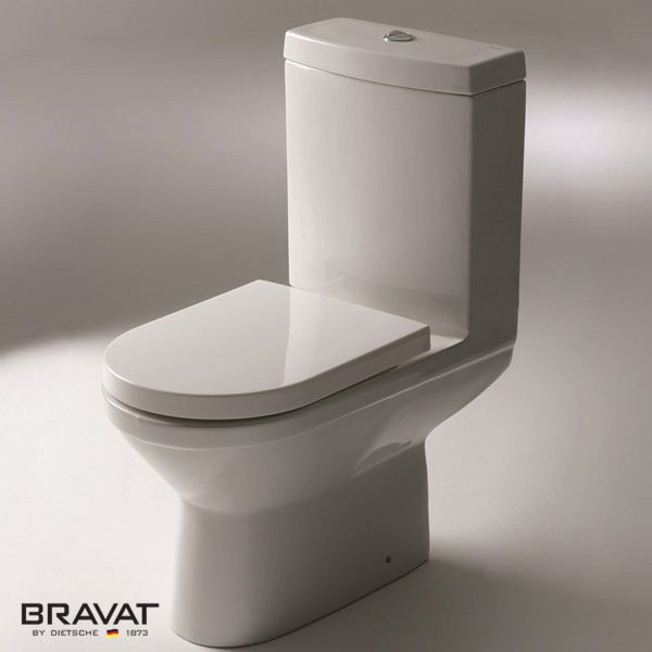 1 piece wc toilet P/S-Trap Integrative molding