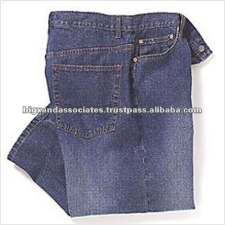 Men's Five Pockets Style Cotton Jeans