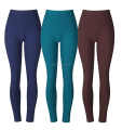 Womens seamless fleece lined brushed sport yoga pant