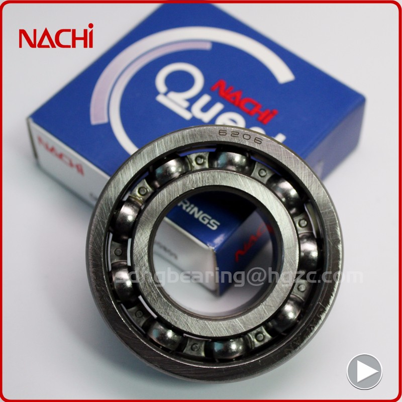 Motorcycle engine parts Nachi deep groove ball bearing 6020 100x150x24