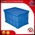 rigid plastic box with lid