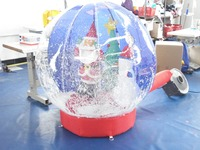 2016 Hot Commercial Christmas Giant Inflatable Snow Globe for Sale