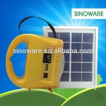 2016 Super Bright Solar LED Lantern, Sinoware LED light longer working time with USB phone charger