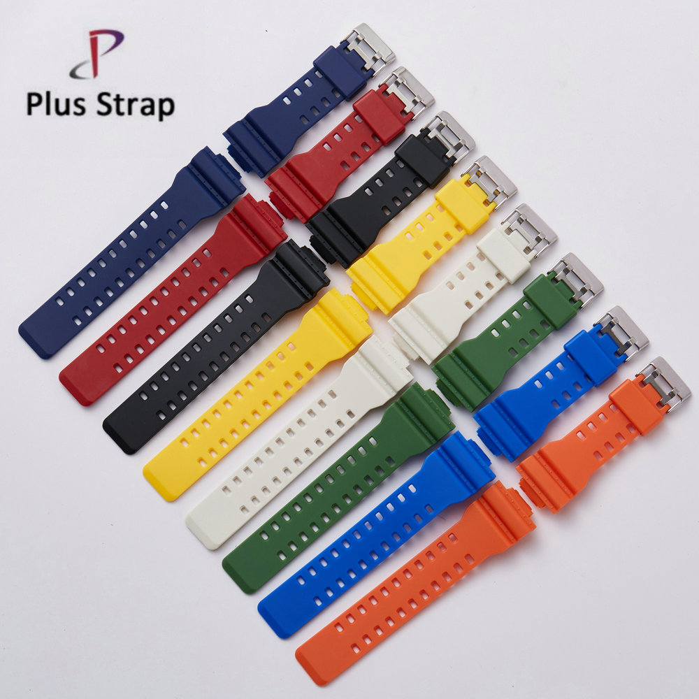 Fashion Watchband Silicone strap waterproof resin wrist belt for <strong>G</strong> Shock GA-110 120 <strong>100</strong> 150 200 series alternatives