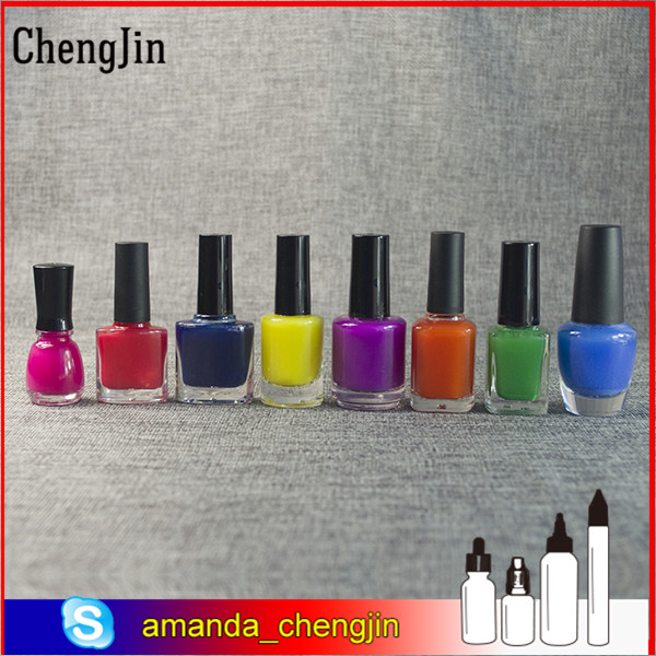 Large inventory high quality nail polish bottle