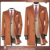 Fashion Popular Color custom made mens winter cashmere wool overcoat