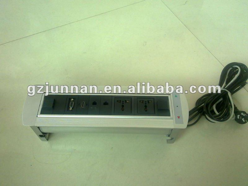 High quality aluminium electric netbox for meeting system