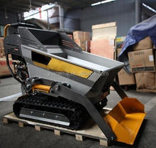Italian Design Hydraulic Self-loading Mini Truck Dumper with Loader