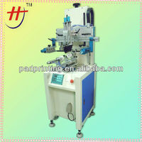 Hot sale HS-260R Cylindrical screen printing machine for glass cup