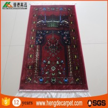 Trade assurance muslim prayer rug,factory price persian prayer rugs from china supplier