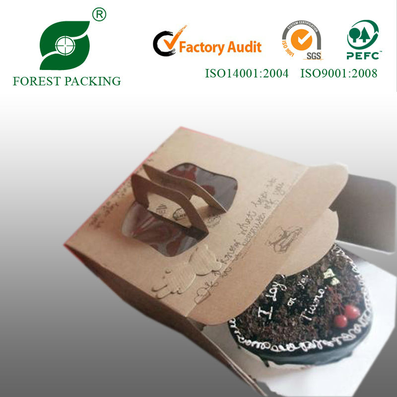 2014 NEWEST ECO-FRIENDLY WHOLESALE CUPCAKE TAKE AWAY BOX