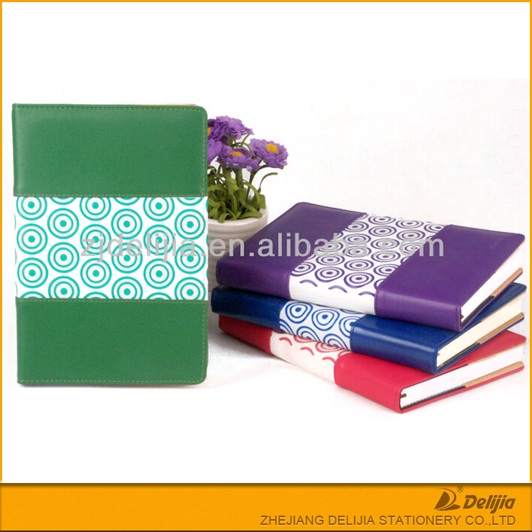 New design various colored kinds notebook gift set