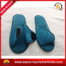 Low price luxury hotel slipper soft washable hotel slipper new airline slippers for men
