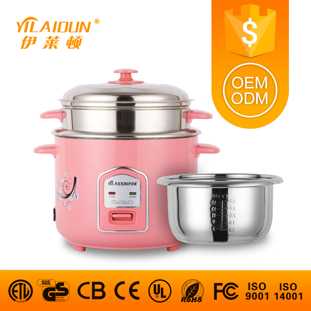 Home appliance parts passed CE / CB / ROHS certified cast iron rice cook pot