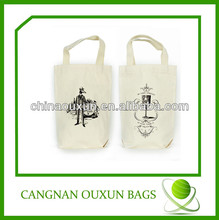 Recycled heavy duty cotton canvas foldable shopping bag