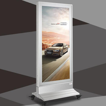 advertising board for shops with great price rolling advertising board custom made