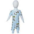 100 % bamboo Infant Unisex long sleeve baby jumpsuit