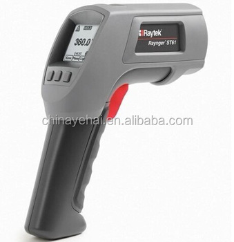 Newest Raytek ST61 non contact infrared thermometer, Single laser infrared thermometer gun ST61