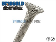Low price 34awg tinned copper tubular braid producer
