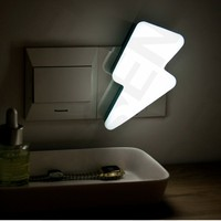 Lightning Funny Night Light/Fashionable kids reading table light bedroom baby night lamp