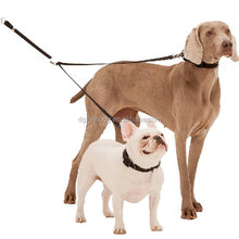 Double dog leash multi-type and Pet Leashes Type Silicone dog tag silencer dog leashes and collars