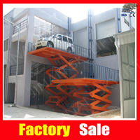 Scissor car lift for sale Used lift 220v
