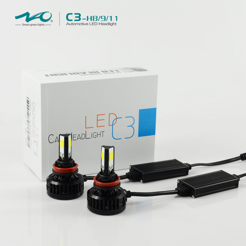 NAO patent H9 car hid xenon kit now led kit