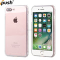 For iphone7 plus case clear transparent shockproof case back cover for iphone7 plus pc tpu case mobile phone case