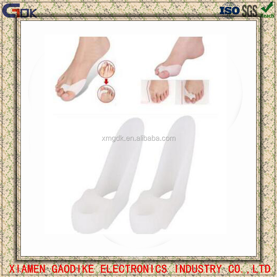 Medical Silicone gel Toe separator/toe overlapping segregator/ toe ectropion correction