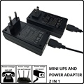 10W EU and US plug power adapter universal adapter of dc 5V 1-2A with CE RoHS FCC