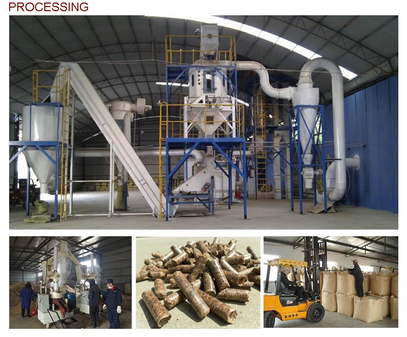 China supplier wood pellets din plus for sale