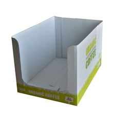 custom garlic packing shipping die cut handle cartons corrugated boxes