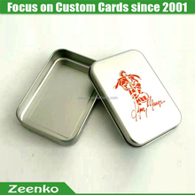 C031 New design custom printed custom game cards playing card box vintage playing cards