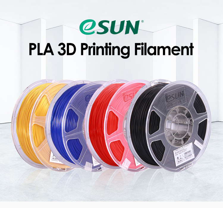 eSUN 1.75mm 2.85mm PLA filament for 3D printer