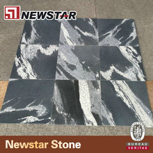 Newstar Directly From Own Quarries Black Polished Swimming Pool Tile And Floor Tile