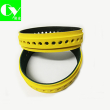 Printer Parts Leather Black Yellow Slow Down Belt