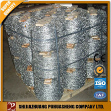 High tensile Barbed wire roll price fence
