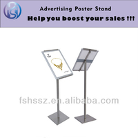 floor display menu metal frame stand HS-LP07